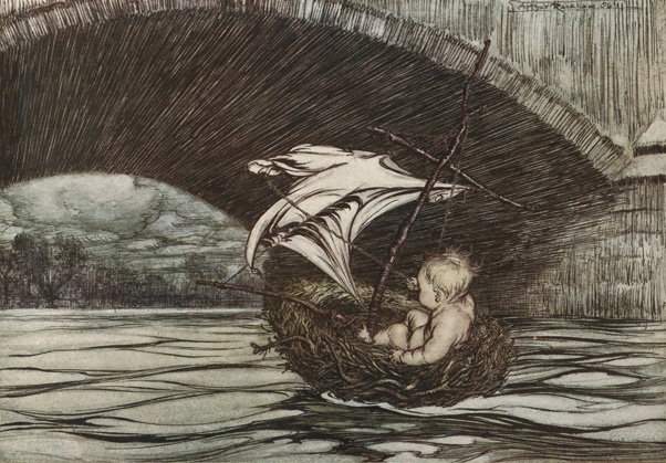 houghton_typ_905r-06-196_a_-_arthur_rackham_peter_pan_-_under_the_bridge-sm
