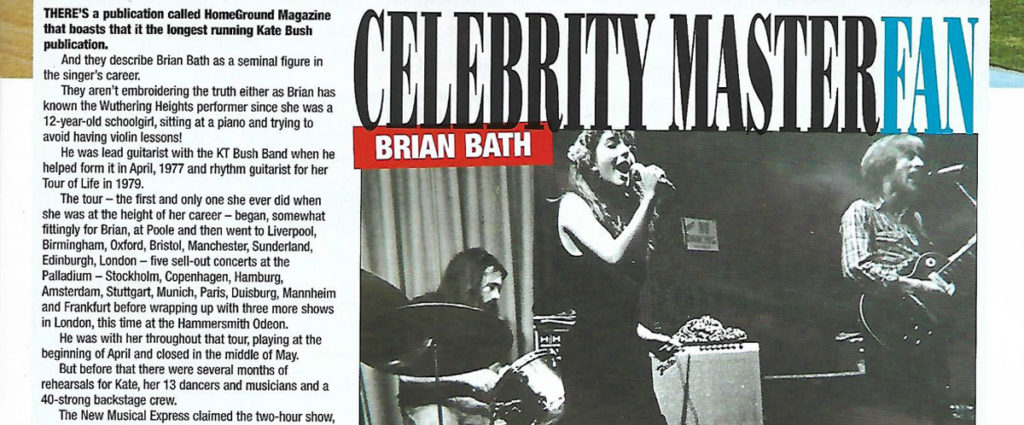 Brian Bath Speedway Star Celebrity Master Fan