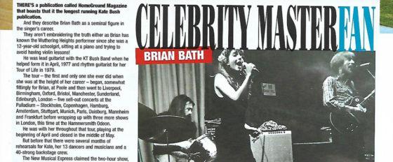 Brian Bath in The Speedway Star