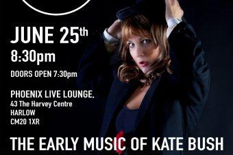 The KT Bush Band – Live at Harlow – 25 June 21